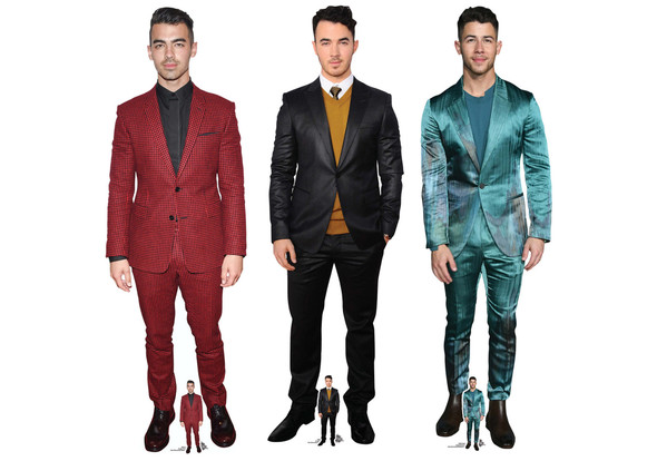 Jonas Brothers Lifesize Cardboard Cutout Collection of 3