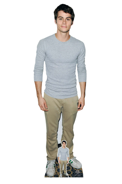 Dylan O'Brien Grey Shirt Lifesize Cardboard Cutout / Standee / Standup