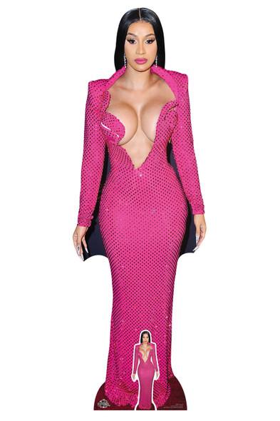 Cardi B Celebrity Singer Lifesize Cardboard Cutout / Standee