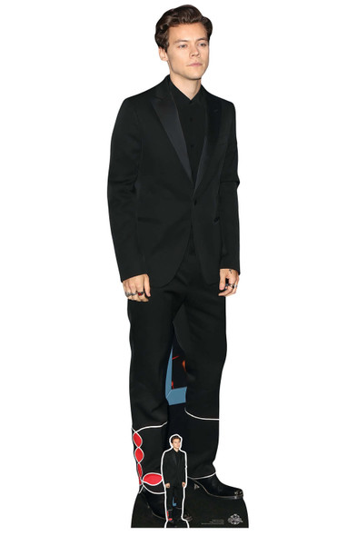Harry Styles Black Suit Lifesize Cardboard Cutout / Standee