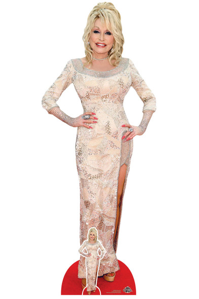 Dolly Parton Celebrity Singer Lifesize Cardboard Cutout / Standee