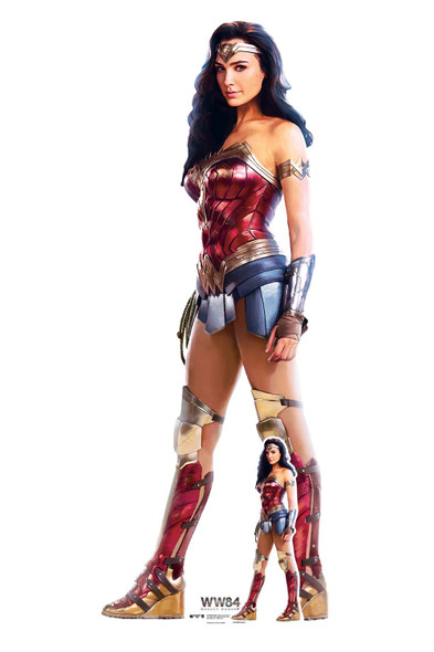 Wonder Woman 1984 (WW84) Lifesize and Mini Cardboard Cutout