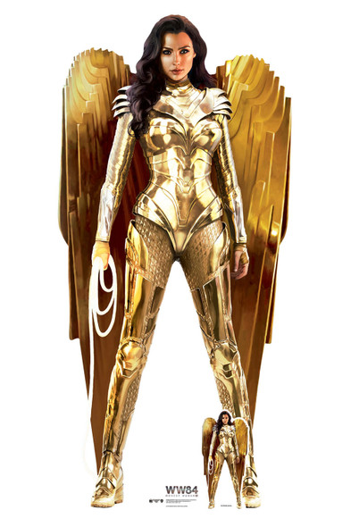 Wonder Woman Gold Armour (WW84) Lifesize Cardboard Cutout