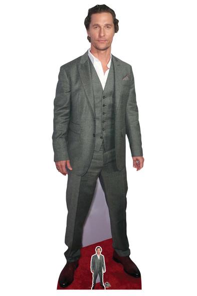 Matthew McConaughey Celebrity Lifesize and Mini Cardboard Cutout / Standup