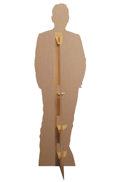 Rear of Bruce Springsteen Celebrity Singer Lifesize Cardboard Cutout