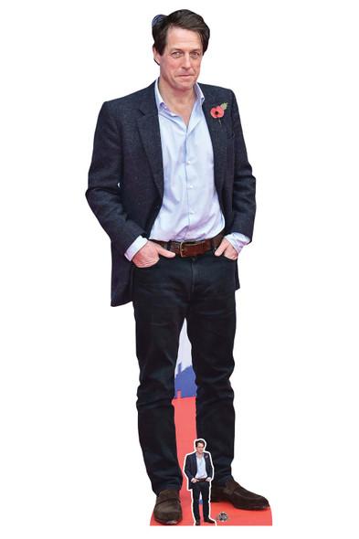 Hugh Grant Blue Shirt Celebrity Lifesize and Mini Cardboard Cutout