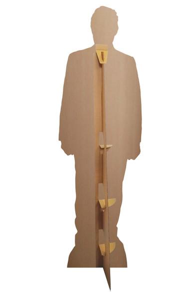 Rear of Hugh Grant Smart Suit Celebrity Lifesize Cardboard Cutout