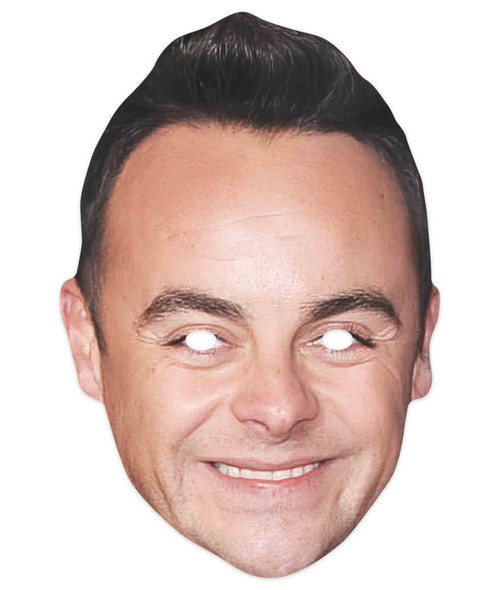 Ant McPartlin Celebrity 2D Single Card Party Mask