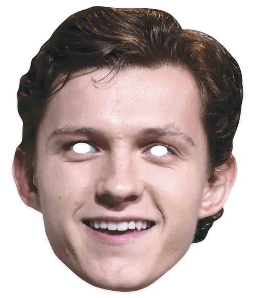 Tom Holland Celebrity Actor 2D Single Card Party Mask