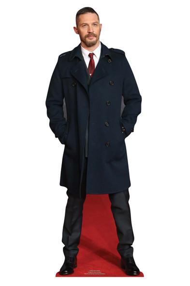 Tom Hardy Long Coat Mini Cardboard Cutout / Standup