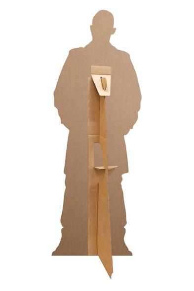 Rear of Tom Hardy Long Coat Mini Cardboard Cutout
