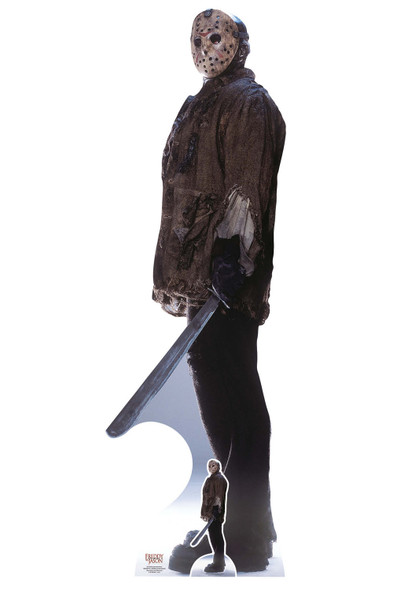 Jason Voorhees from Freddy vs. Jason Official Lifesize and Mini Cardboard Cutout