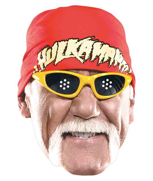 Hulk Hogan WWE Wrestler Official Single 2D Card Party Face Mask