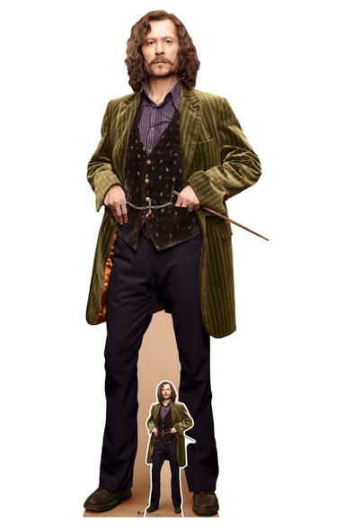 Sirius Black from Harry Potter Lifesize and Mini Cardboard Cutout / Standee