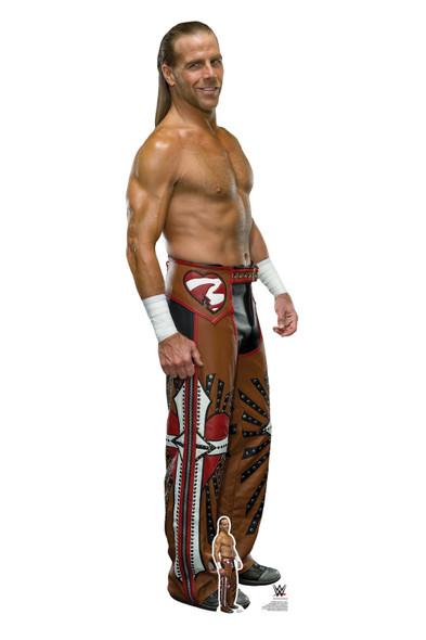 Shawn Michaels WWE Lifesize and Mini Cardboard Cutout / Standup