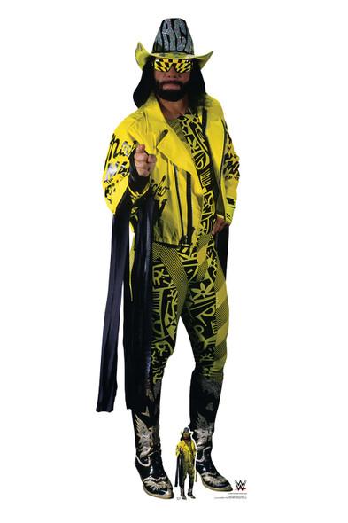 Macho Man Randy Savage Yellow Suit WWE Lifesize and Mini Cardboard Cutout / Standup