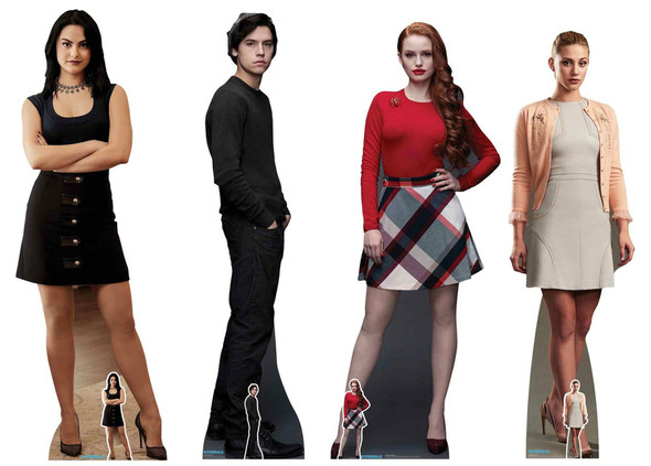 Riverdale Party Pack Official Lifesize Cardboard Cutouts Set of 4