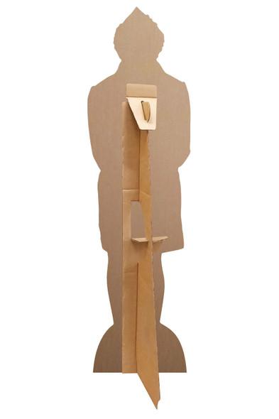 Rear of Buddy Hobbs from Elf Mini Cardboard Cutout