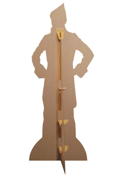 Rear of Buddy Hobbs from Elf Hands on Hips Lifesize Cardboard Cutout
