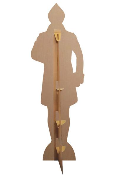 Rear of Buddy Hobbs from Elf Marching Lifesize Cardboard Cutout