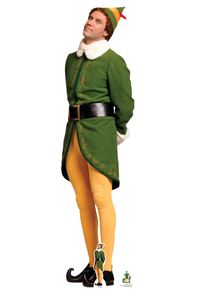 Buddy Hobbs from Elf Waiting for Christmas Lifesize and Mini Cardboard Cutout
