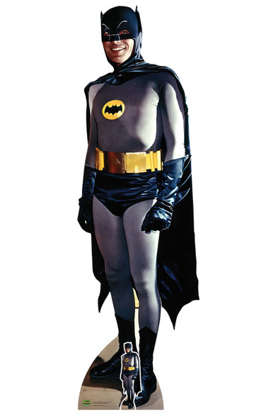 Batman Adam West 1966 Lifesize and Mini Cardboard Cutout / Standup