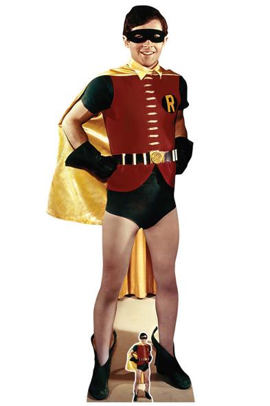 Robin Burt Ward from Batman 1966 Lifesize and Mini Cardboard Cutout