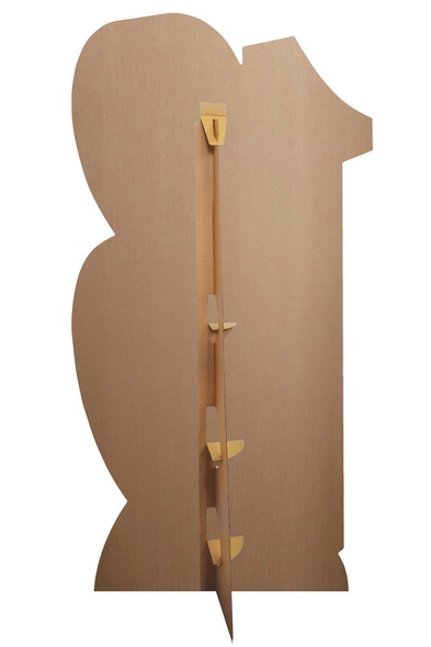 Rear of Number 18 Gold Cardboard Cutout