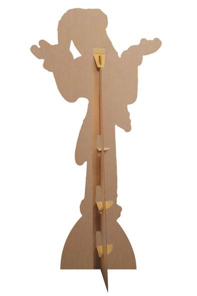 Rear of Jack Skellington Santa Suit The Nightmare Before Christmas Cardboard Cutout