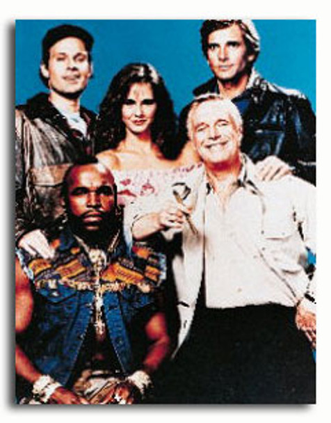 (SS30940) Cast   The A-Team Television Photo