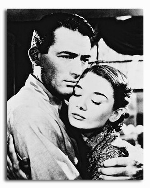(SS174707) Audrey Hepburn  Roman Holiday Movie Photo