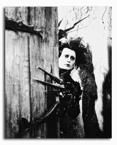 (SS206297) Johnny Depp  Edward Scissorhands Movie Photo