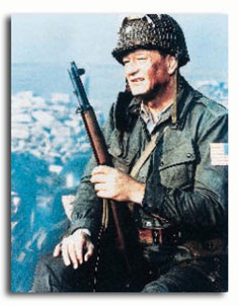 (SS344435) John Wayne  The Longest Day Movie Photo