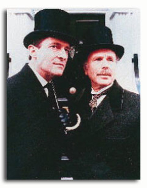 (SS381862) Cast   The Adventures of Sherlock Holmes Television Photo