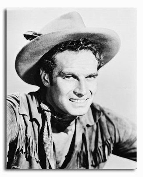 (SS2180048) Charlton Heston  Pony Express Movie Photo