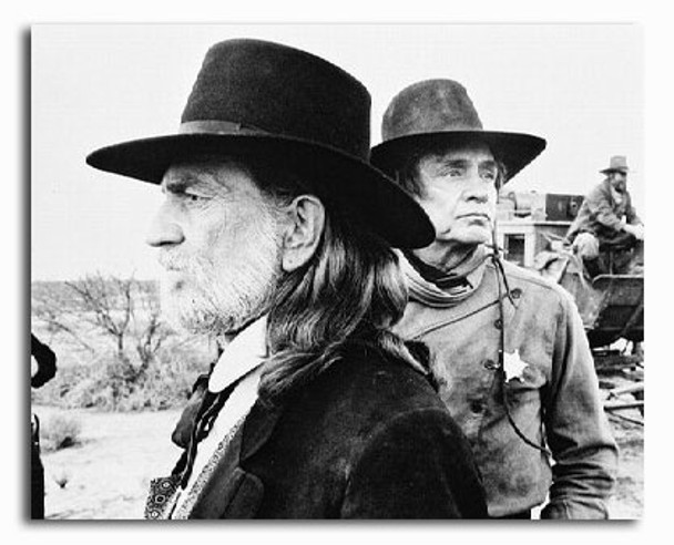 (SS2230176) Johnny Cash & Willie Nelson Music Photo