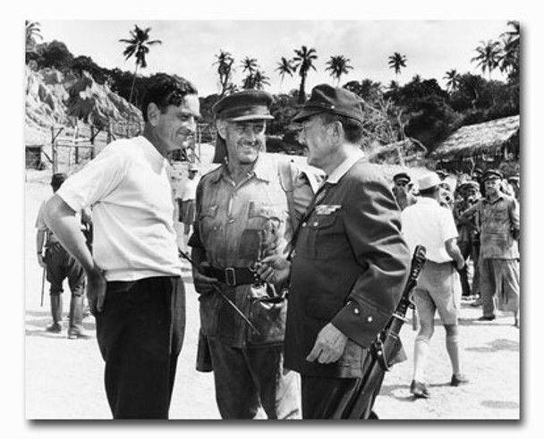 (SS2330211) Cast   The Bridge on the River Kwai Movie Photo