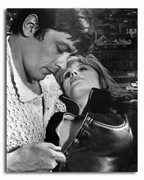 (SS2425722) Alain Delon  The Girl on a Motorcycle Movie Photo