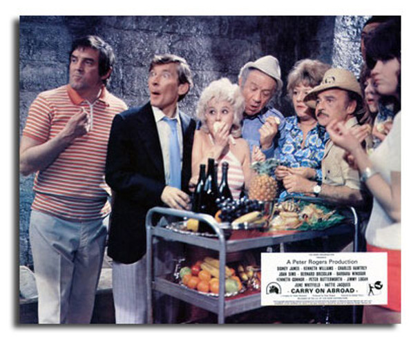 (SS3601741) Cast   Carry on Abroad Movie Photo