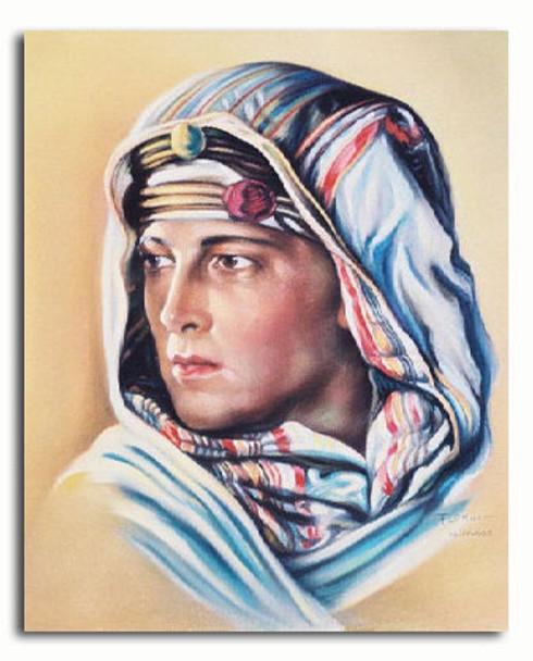 (SS3218722) Rudolph Valentino  The Sheik Movie Photo