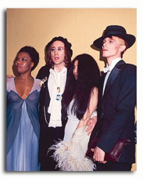 (SS3299777) John Lennon & David Bowie Music Photo