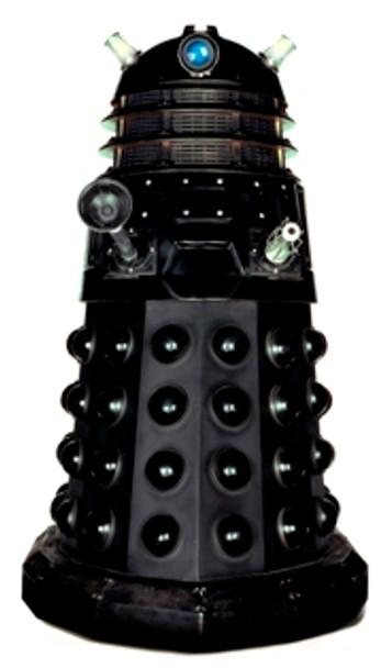 Dalek (Black) Tabletop (Doctor Who)- Tabletop Cardboard Cutout / Standee