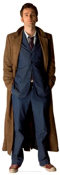 Doctor Who Tabletop (David Tenant)- Tabletop Cardboard Cutout / Standee