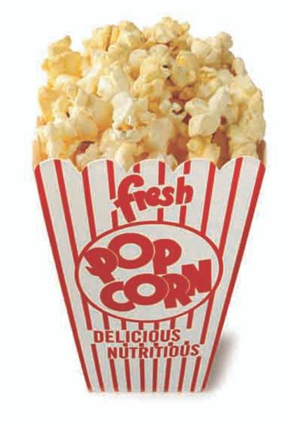 Pop Corn (Party Prop) - Lifesize Cardboard Cutout / Standee