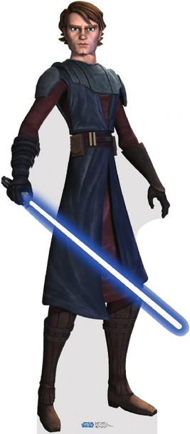 Anakin Skywalker  (Star Wars Clone Wars) - Lifesize Cardboard Cutout / Standee
