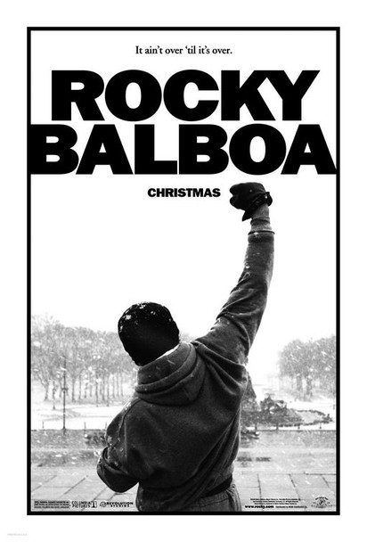 ROCKY BALBOA (DOUBLE SIDED Advance) (2006) ORIGINAL CINEMA POSTER