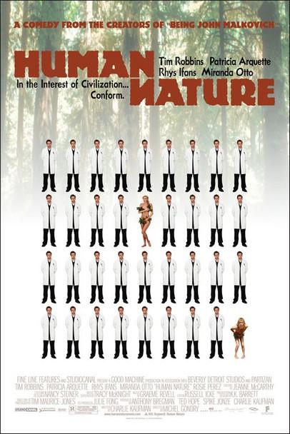 HUMAN NATURE (2001) ORIGINAL CINEMA POSTER