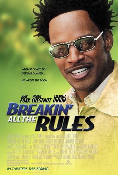 BREAKIN' ALL THE RULES (DOUBLE SIDED Regular) (2004) ORIGINAL CINEMA POSTER