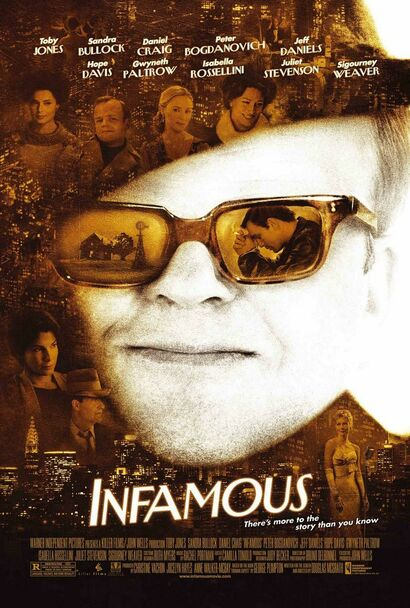 INFAMOUS (DOUBLE SIDED Regular) (2006) ORIGINAL CINEMA POSTER