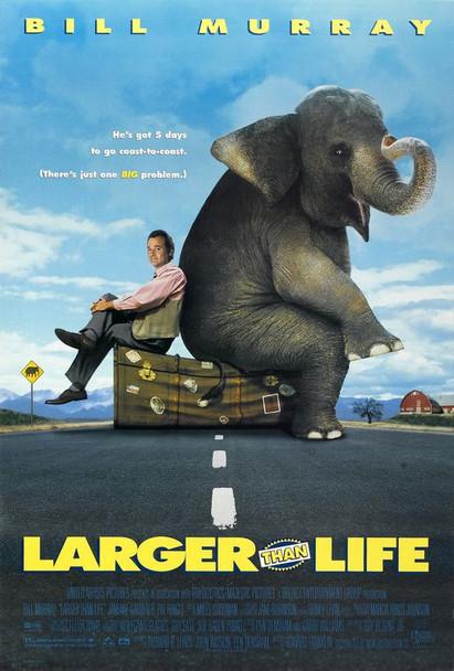 LARGER THAN LIFE (1996) ORIGINAL CINEMA POSTER